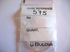BULOVA  PLEXI GLASS CASE REFERENCE 575