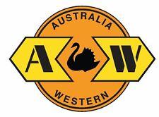 Australia Western Railway Railroad TRAIN Sticker / Decal R719
