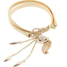 vente en gros FEMME CHARMANT ceinture dorée LITTLE FOX EXTENSIBLE STRASS BLET
