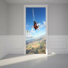 Sky Diving Extreme 3D DOOR WRAP Decal Wall Sticker Home Decor Mural Art 235