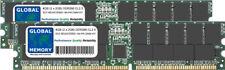 4GB 2x2GB DDR 266Mhz PC2100 184-Pin ECC Registrati RDIMM Memoria Server Kit RAM