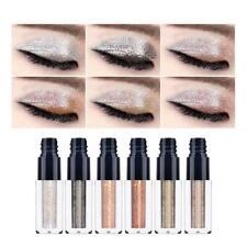 6 Colors Glitter Liquid Eyeshadow Long lasting Shimmer Eye Shadow Makeup