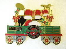 MADRID,Hard Rock Cafe Pin,European Train Series,Very Nice