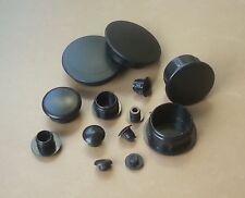 Hole Plugs Plastic Blanking Masking Finishing Inserts  /Various Sizes/ Black
