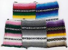 Hippie Baja Messenger Shoulder Bag Beach Rasta Blanket Purse Made in Mexico