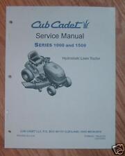CUB CADET LT1018 LT1022 LT1024 LT1042 SERVICE MANUAL