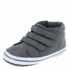 Teeny Toes Baby Boy Grey Milo Triple-Strap Casual Shoes 1W-3W