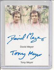 James Bond Heroes & Villains D.Meyer&T.Meyer auto card