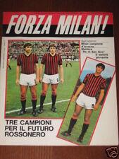 FORZA MILAN 1979/2 GIANNI RIVERA FRANCO BARESI MALDERA