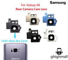 Samsung Galaxy S8 G950 Rear Back Camera Lens Glass Cover Frame USA