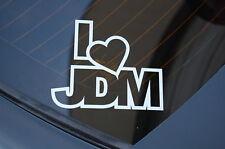 I LOVE JDM Sticker Decal Vinyl JDM Euro Drift Lowered illest Fatlace