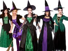 Gli adulti Halloween Costume Strega Donna Streghe Outfit Da 5 disegni
