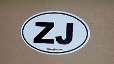 ZJ  Euro Sticker for Grand Cherokee Bumper Sticker Deca
