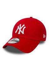 New Era 39Thirty League Cap - NY YANKEES - Scarlet-White