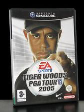 TIGER WOODS PGA TOUR 2005 GIOCO USATO BUONO STATO PER GEMECUBE EDIZIONE UK 26462