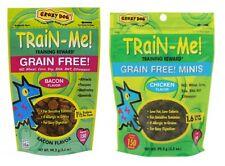 Grain Free Mini Small Dog Training Treats Chicken or Bacon 3.5 oz Bulk Available