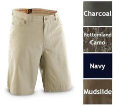 Mens Browning Olympus Short Casual Shorts Khaki Camo Navy Brown Size 34 38 & 40