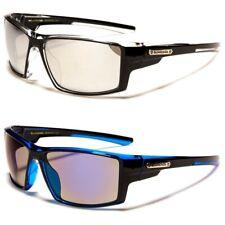 Biohazard Sports Wrap Around Rectangle Men's Sunglasses