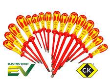 CK Tools dextroocularidad VDE Destornilladores Completa Gama Phillips, Pozi, ranurados, módulo