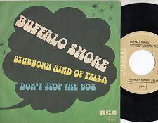 BUFFALO SMOKE disco 45 giri MADE in ITALY Stubborn kind of fella 1978