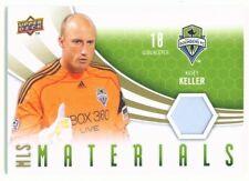 """KASEY KELLER """"MLS MATERIALS JERSEY"""" UD MLS SOCCER 2010"""