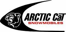 ARCTIC CAT SWOOSH Vintage Snowmobile Decal CHOOSE SIZE & COLOR Contour Cut