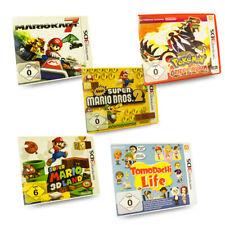 3DS Spiel Mario Kart New Super Bros Super 3D Land Pokemon Omega Tomodachi Life