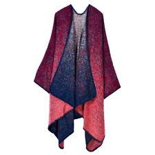 Lady Women For Winter Cloak Cashmere Scarf Plaid Poncho Cape Wrap Shawl Blanket