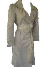 Darling Cream Ruffle Fab Belted Meena Mac Coat XS-XL UK 8 -16 RRP �65