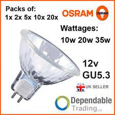 1x 2x 5x 10x 20x OSRAM 35w 50w MR16 Reflektor Halogen Lampe 36 Grad GU5.3