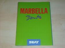 31729) Seat Marbella Bonito Prospekt 1993