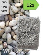 Ciottoli di Torrente - 12 sacchi da 25 kg - sassi fiume pietre giardino