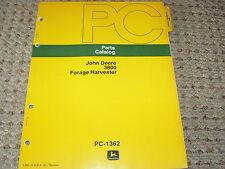 John Deere 3800 Forage Harvester Dealer's Parts Book