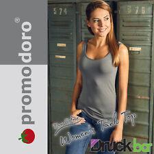 Promodoro Women`s Tank Top | 1051 | T-Shirt Shirt Textildruck Mode Design *TOP*