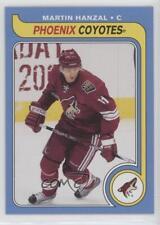 2008-09 O-Pee-Chee Retro #323 Martin Hanzal Phoenix Coyotes Hockey Card