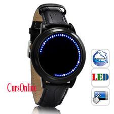 Orologio Uomo / Unisex Touch Screen Bracciale Pelle Grande Ruota Watch Cuff Roue