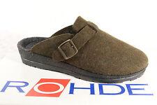 Rohde Women's Slipper, Soft Felt , Olive, New 4280+