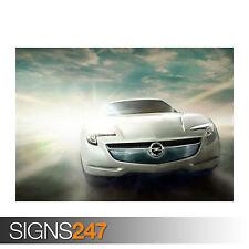 Opel Flextreme GT E concept (0611) Voiture AFFICHE-POSTER print ART A0 A1 A2 A3 A4