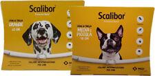 SCALIBOR - Collare Antiparassitario per cani - Taglia Medio-Piccola e Grande