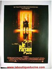 LE PARRAIN 3 Press Book Cinéma AL PACINO & COPPOLA