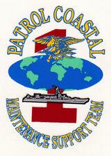 USN US NAVY PATROL COASTAL MAINTENANCE SUPPORT TEAM LOGO CUSTOM MUG CUP STEIN