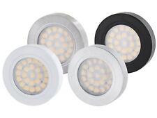 LED Aluminium Unterbauleuchte dimmbar 12V - Möbelleuchte Aufbau Spot Strahler