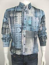 John Galliano Jeans Hemd Shirt Camicia XR26A1 Neu 48 52