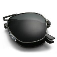 Folding Polarized Sunglasses Men's Pilot Foldable Designer Driving Sunglasses