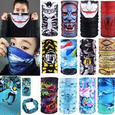 Bandana Face UV Shield Mask Fishing Headwear Biker Neck Tube Scarf Skull Head