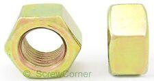 Sechskantmutter 1/4-20 UNC Grade 5 gelb verzinkt  / Hex Nut 1/4-20 UNC Grd.5 Yp