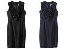 Merona Formal Women's Twill Ruffle Neck Dress Plus Size:18W  or 20W