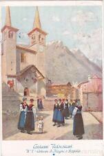 * ALAGNA - SCOPELLO - Valsesia - Costumi 1935