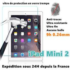 Film de protecteur vitre protection d'écran en verre trempé pour IPAD MINI 2