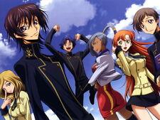 V2163 Code Geass Characters Anime Manga Art Decor PRINT POSTER Affiche